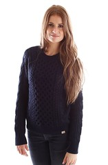 Stylish girl in wool knitwear (Mytwist) Tags: x paladin sweater carhartt wool fashion fetish sweatergirl irish aranstyle style sweaters jumper pullover
