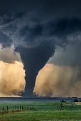 Tornado! (ryanmcginnisphoto) Tags: tornado kansas dark scary severeweather storm supercell amazing rural