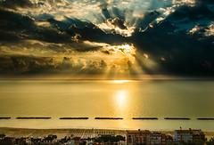 _DSC0424 (Giuseppe Cocchieri) Tags: sunrise alba sea seascape mare summer estate spiaggia beach landscape paesaggio