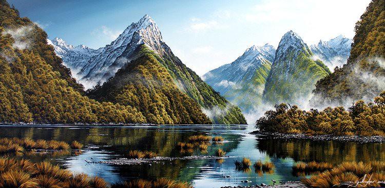 vịnh Milford Sound