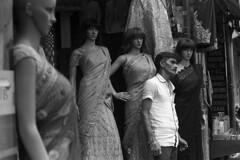 With the ladies (S a b i r) Tags: street leica 50mm kodak bangalore streetphotography streetlife hc110 100 m3 industar sabir arista 5028 epsonv700 bangaloremarkets dilh aristapremium