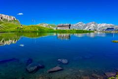 Blau (mirko.borgmann) Tags: grosglockner see blau himmel sky speigelung topf25 2549 faves