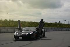 Ready for flight (SupercarsofBC) Tags: lamborghini aventador lp700 v12 engine carbon fiber cars supercars exotics richmond british columbia canada 2016 sbc