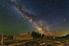 Moulton Barn Milky Way (skypointer2000) Tags: grandteton wyoming moultonbarn astrophotography astro astronomy nightscape night longexposure landscape canon canoneos6d hutech astromodified tamronsp1530mmf28 milkyway milchstrasse