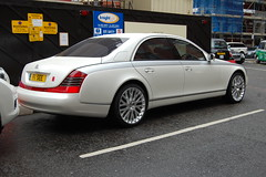 Maybach 57 (D's Carspotting) Tags: maybach 57 united kingdom london white 20110617 f1see