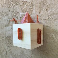 Explorers Cubed (Artotem) Tags: cubed cubism squared art arte