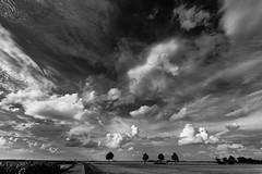 Clouds (++sepp++) Tags: bayern deutschland de bavaria germany wolken wolkig clouds cloudy landschaft landscape bw blackwhite sw schwarzweis einfarbig monochrom greaterphotographers