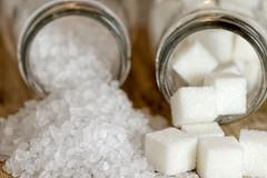 Salty or Sweet (WilliamND4) Tags: texture white macromondays opposites salty sweet salt sugar macro nikon d610 tokina100mmf28atxprod tokina100mmf28lens tokina