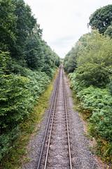 London Loop - rail crossing. (Neil Baldwin) Tags: bexley londonloop orpington public london longdistancepath walk