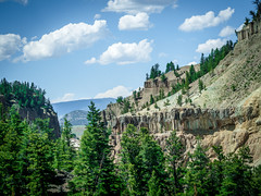 Yolostone-32 (stoshphoto) Tags: yellowstone montana motorcycle trip travel olympus adventure mountains forest lake stream waterfall