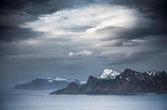 Lofoten Heaven (Danil) Tags: lofoten daniel bosma norway mountain ridge atlantic viewpoint ocean landscape island water sky cloudscape mood lonely away arctic