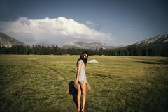 (PATHTIQUE) Tags: adventure yosemite nationalpark travel lifestyle mood girl wilderness vintage nostalgia 50mm tuolumnemeadows california pathetique