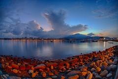 Bali Dist., New Taipei City, Taiwan (R.O.C.) () Tags: bali dist new taipei city taiwan roc  64        sunrise black card digital slr landscape ferry head 5diii 5d3        sigma15mmf28exdgfishe