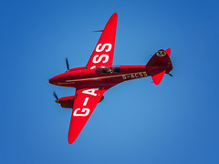 'Red is the only colour' - DH88 Comet (davepickettphotographer) Tags: theshuttleworthcollectionuk oldwarden dh88 dehavilland comet rare vintage oldwardenairshow airshow bedfordshire biggleswade aircraft aviation uk gb trust park dh collection shuttleworth davepickettphotographer olympuscamera micro 34 system