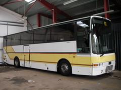 VPY the Super High (preselected) Tags: bus coach volvo b10m van hool super high burrell newsham white star neilston