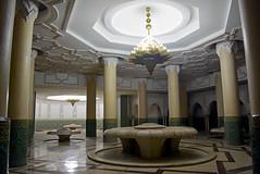 Hussain II mosque 13 (PhillMono) Tags: nikon dslr d7100 history heritage empty emptiness travel tourist architecture art hussain ii mosque casablanca morocco decoration ornate