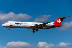 Helvetic Airways HB-JVC (A) (U. Heinze) Tags: aircraft airlines airways haj hannoverlangenhagenairporthaj eddv planespotting nikon d610 nikon28300mm