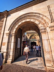 Entrance to the Grand Bazaar in Istanbul, Turkey (CamelKW) Tags: turkey2016 grandbazaar istanbul turkey