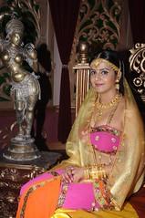 South Actress CHARULATHA Hot Photos Set-2- at Sri Ramanujar film shooting (2)