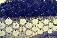 Forever alone (anvelvet) Tags: badratkersburg austria mura forever alone love water bridge sadness message