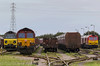 """Type 5 Full House"" (MSRail Photography) Tags: class60 60 class66 66 class70 70 ews dbs colas"