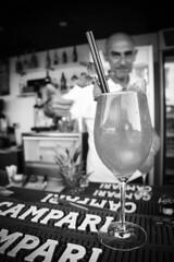 Domina (napodano_matteo) Tags: domina 2k16 2016 holiday bar barman blackandwhite bianconero campari cocktail