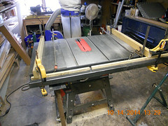 Hank Kennedy table saw project - diy guide rails 17
