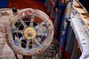 Rudder (Giancarlo Nuccio) Tags: old blue red sea summer italy white black art colors cat boat barca italia mare estate artistic blu porto finepix sicily fujifilm hd palermo rosso colori gatto sicilia seaport vecchio rovine 2015 decadenza porticello barcone s2500hd nerho giancarlonuccio nerho84