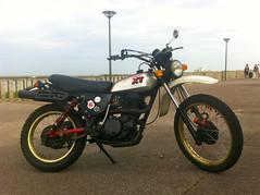 yamaha XT 500 (Vincent Prdm) Tags: xt mono moto yamaha 500 biarritz ancienne xt500 japonnaise monocylindre