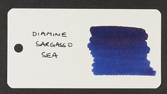 Diamine Sargasso Sea - Word Card