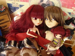 Proximamente... (Lunalila1) Tags: nude couple doll little handmade dal 11 lovers santos yukata nakano groove pullip ruby cris urasawa arion susumi obitsu taeyang junplaning stica