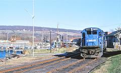 CR 1973  4-86 (C E Turley) Tags: trains railways railroads watkinsglen conrail