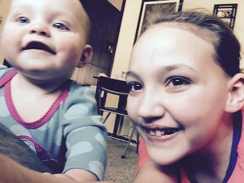 Day 285: sister selfie!! 💜