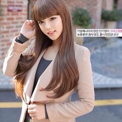 วิกผมยาวตรง แบบสาวเกาหลีหน้าม้าสวยแบบธรรมชาติน่ารักใหม่ นำเข้า สีน้ำตาลอ่อน - พร้อมส่งW123 ราคา670บาท วิกผมยาว วิกผมยาวหน้าม้า สวยด้วยทรงผมยาวตรงสวยธรรมชาติสุดๆหวานสวยน่ารักทุกงานมั่นใจอย่างดารารุ่นนี้ทรงใหม่น่ารักมากๆฮิตสุดๆ จะออกงานให้ดูน่ารักแบบดาราเกา