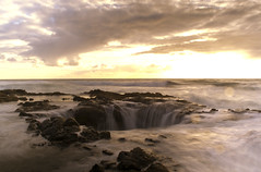 Thor's Well (gwendolyn.allsop) Tags: ocean sunset oregon coast well cape perpetua thors