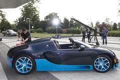 Bugatti Veyron for CNBC