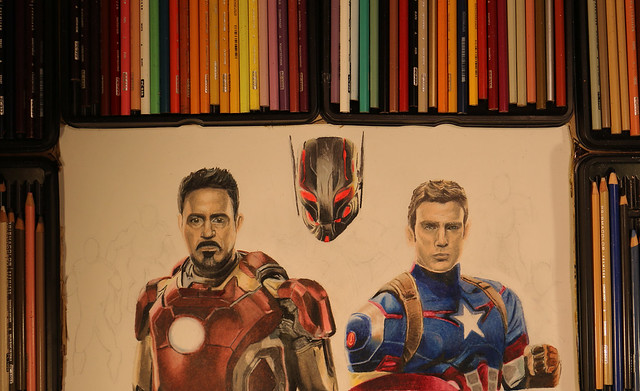 Drawing the Avengers - Age of Ultron - Kitslam