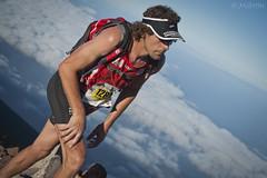 "Trajocade en la cima (Tenisca ""Alexis Martín"") Tags: running trail runner lapalma correr ultratrail transvulcania transvulcania2015 plátanodecanariastransvulcania2015"