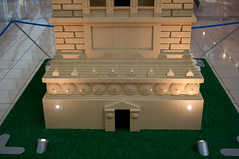 Statue of Liberty base (stevesheriw) Tags: texas lego exhibit statueofliberty frisco stonebriar legoamericanaroadshow