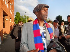 Maxi Jazz, Selhurst Park, London (Paul-M-Wright) Tags: park uk london scarf football julian crystal 26 dundee soccer may jazz palace match fc maxi versus faithless testimonial 2015 cpfc selhurst speroni