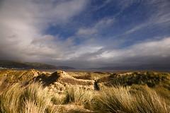 Dune Rays (shawn~white) Tags: beach nature water grass wales coast place unitedkingdom dunes estuary ceredigion ynyslas shawnwhite shawnraisindp
