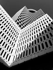 Produk 29 (Ovais M) Tags: city blackandwhite bw white black streets architecture buildings photography design dubai uae structure minimal rak bnw citywalk iphone jbr dubaimall festivalcity iphone6s mydubai