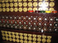 Reconstructed bombe machine (Shuki Raz) Tags: bombe turing bletchley decoding