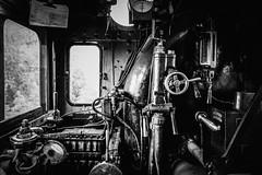 E2 957, interior (Michael Erhardsson) Tags: juni skandinavien resa e2 interir 2016 svartvitt jrnvg erleben nglok hytt tgresa frarplats