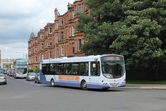 First Glasgow - SF04 HXX (69296) (MSE062) Tags: bus subway scotland eclipse volvo floor glasgow low replacement first rail single wright hutchison spt decker overtown b7rle sf04 hxx 69296 sf04hxx