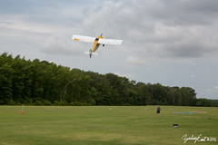 20160716-110539-5D3_4482 (zjernst) Tags: sign museum advertising airplane climb virginia flying aircraft aviation military ad banner aerial propeller takeoff advertise 2016