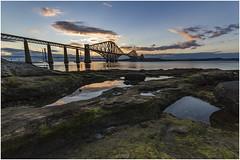 WEEK 29 - Landscape - Waterscape (Jistfoties) Tags: forthbridge forthbridges southqueensferry bridge civilengineering lothian riverforth dogwood52