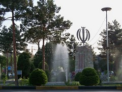 Beheshti Sq 2 (Sasha India) Tags: iran irn yezd yazd
