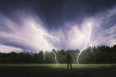 Storm chaser (Dejan Hudoletnjak) Tags: storm chaser stormchaser thunderstormthunderthunder stormlightningcloudsskychasing stormstorm chasingman chase