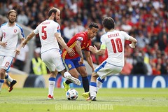 Spain vs Czech (Kwmrm93) Tags: france sports sport canon football fussball soccer futbol futebol uefa fotball voetbal fodbold calcio deportivo fotboll  deportiva esport fusball  fotbal jalkapallo  nogomet fudbal  euro2016 votebol fodbal